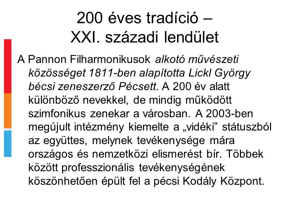 200 éves tradíció – XXI.