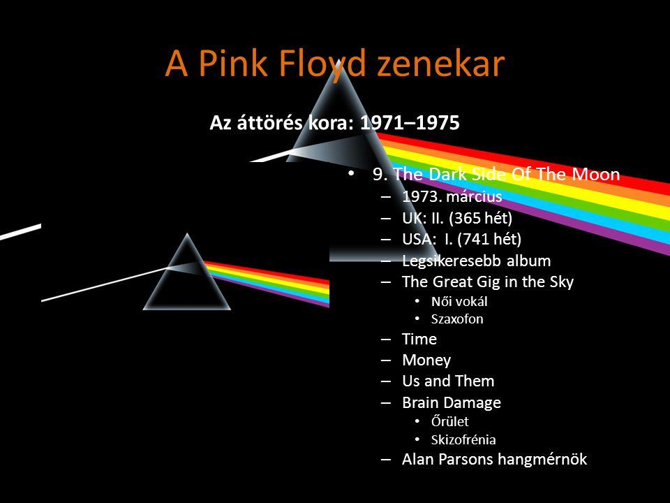 A Pink Floyd zenekar • 11.Wish You Were Here – 1975.