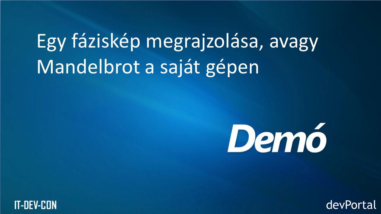 IT-DEV-CON Cél: a Windows Azure portálon, interaktív módon elvégezhető műveletek elérhetővé tétele programból is tárolási fiókok, hosztolt szolgáltatások, tanúsítványok és más objektumok kezelése Használat REST API (nincs menedzselt osztálykönyvtár) azonosítás tanúsítványok segítségével Felhasznált technológia Service Management API