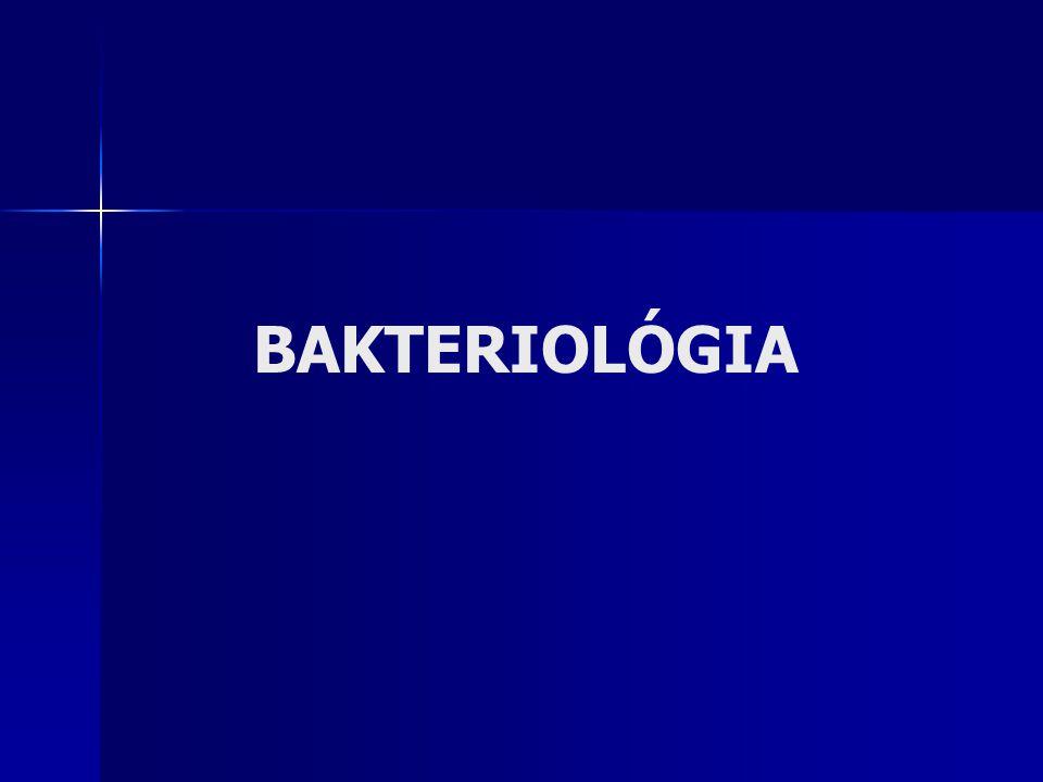 BAKTERIOLÓGIA