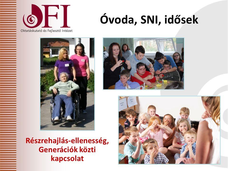 Oktatáskutató és Fejlesztő Intézet Óvoda, SNI, idősek Részrehajlás-ellenesség, Generációk közti kapcsolat