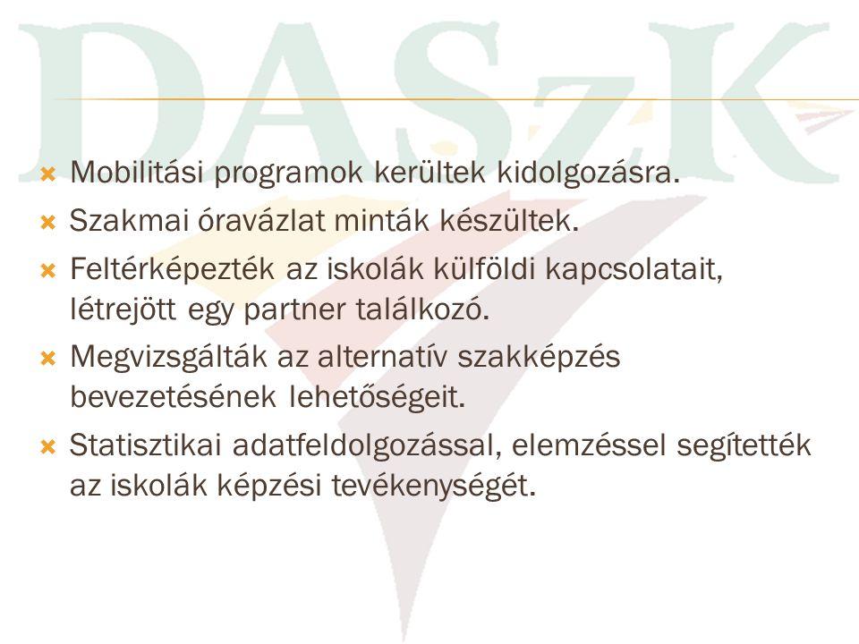  Szakmai felnőttképzési programok felülvizsgálata, egységesítése.