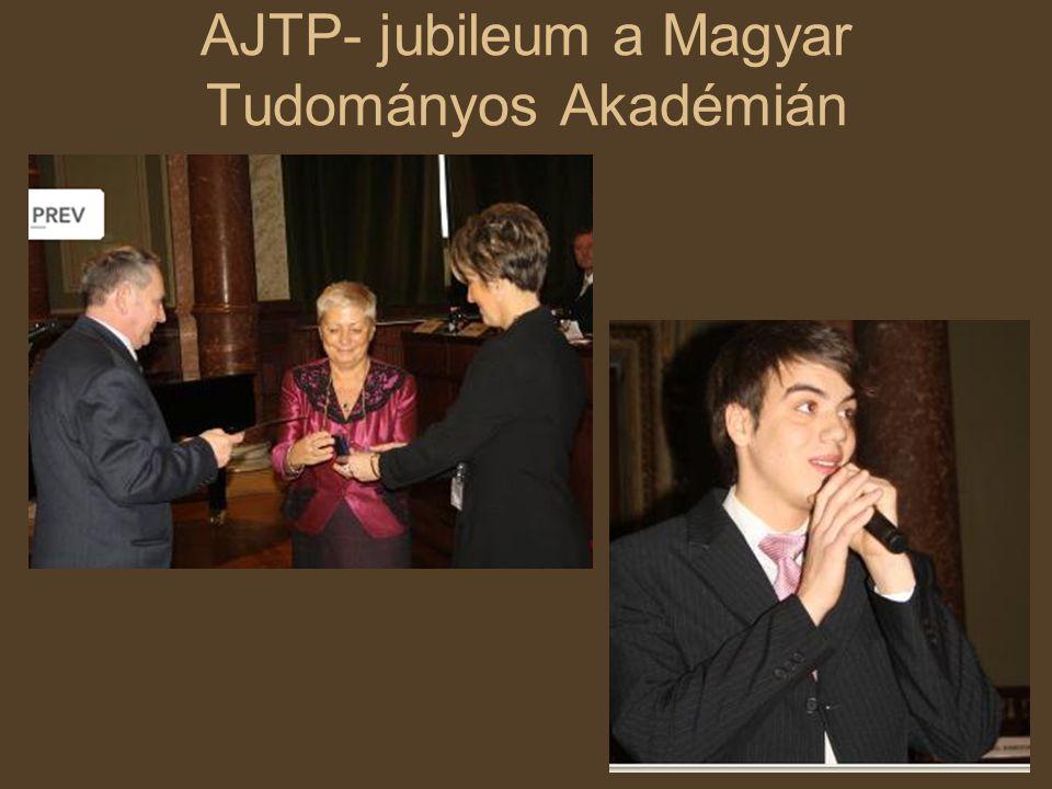 AJTP- jubileum a Magyar Tudományos Akadémián