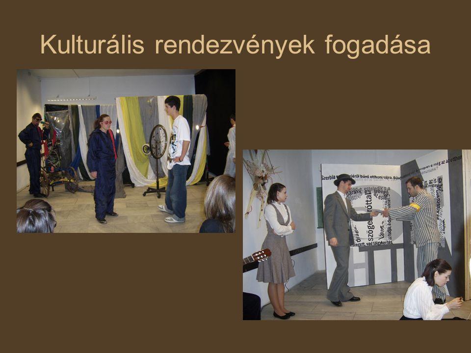 Kulturális rendezvények fogadása