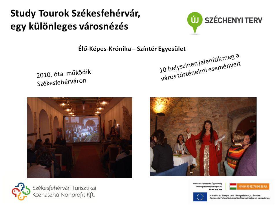 2010. óta működik Székesfehérváron 10 helyszínen jelenítik meg a város történelmi eseményeit Élő-Képes-Krónika – Színtér Egyesület