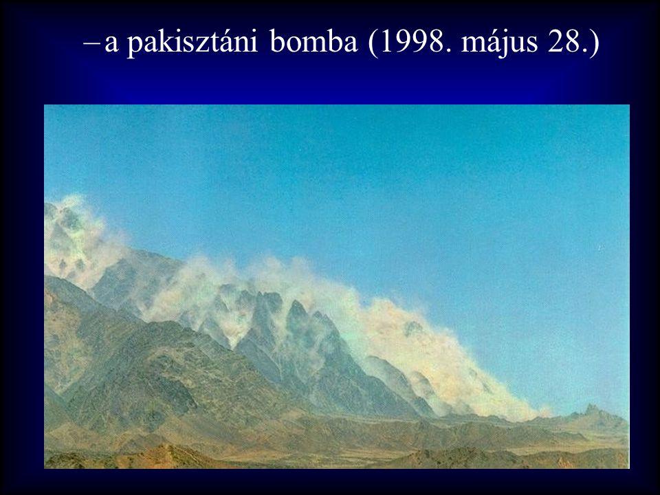 –a pakisztáni bomba (1998. május 28.)
