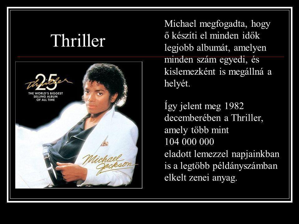 1979-ben látott napvilágot Michael első önálló szólóalbuma, az Off the Wall 10 millió példányban kelt el, olyan slágerekkel, mint a Don't Stop 'Til Yo