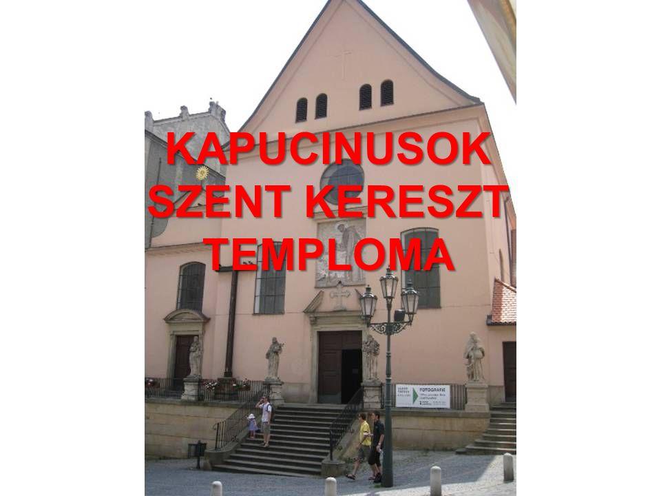 KAPUCINUSOK SZENT KERESZT TEMPLOMA