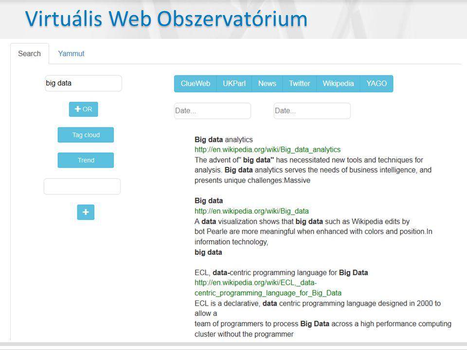 Virtuális Web Obszervatórium