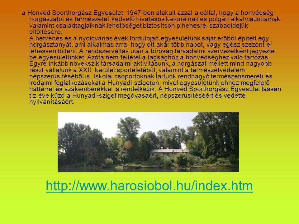 http://dunaiszigetek.blogspot.com/2011/09/haros-sziget-latogatokozpontja-hunyadi.html Bővebben a Hunyadi-szigetről az interneten: