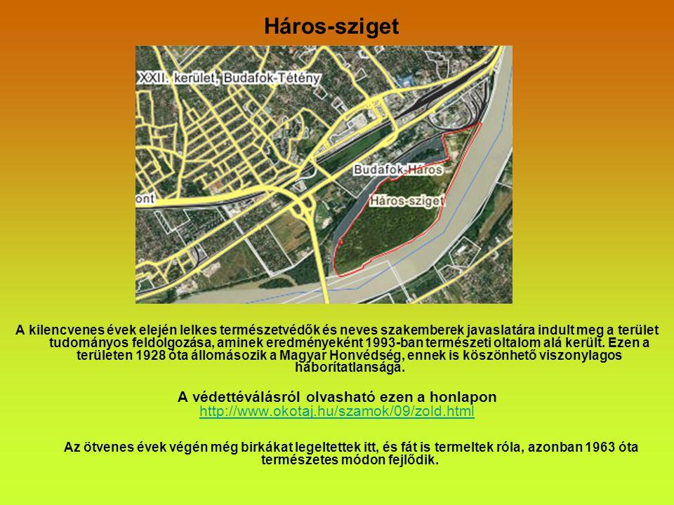 2011.október 22.Szombat Budapest és környéke természeti értékei.