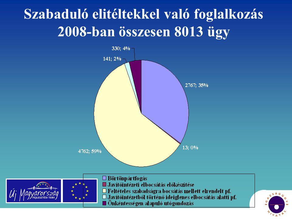 """Fejlődési lépések 2003-2008 • Jogszabályi háttér – börtönpártfogás lehetősége és kötelezettsége • Pártfogó felügyelői vélemény • Közösségi foglalkoztatók, magatartási szabályok, """"csoportos foglalkozások , helyreállító szemlélet és módszerek"""