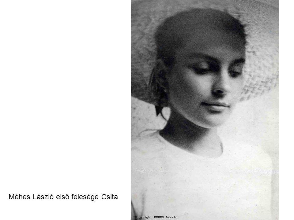 Méhes László első felesége Csita