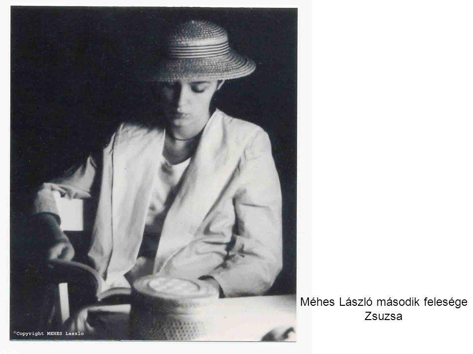 Méhes László második felesége Zsuzsa