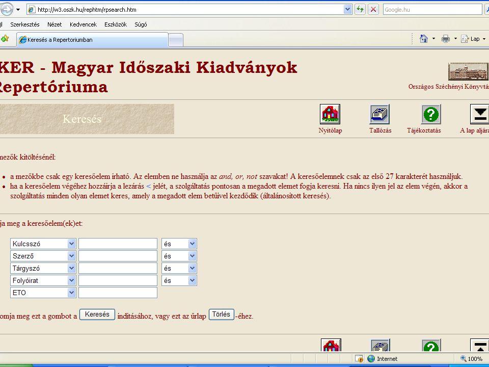 Webográfia:  [2009.