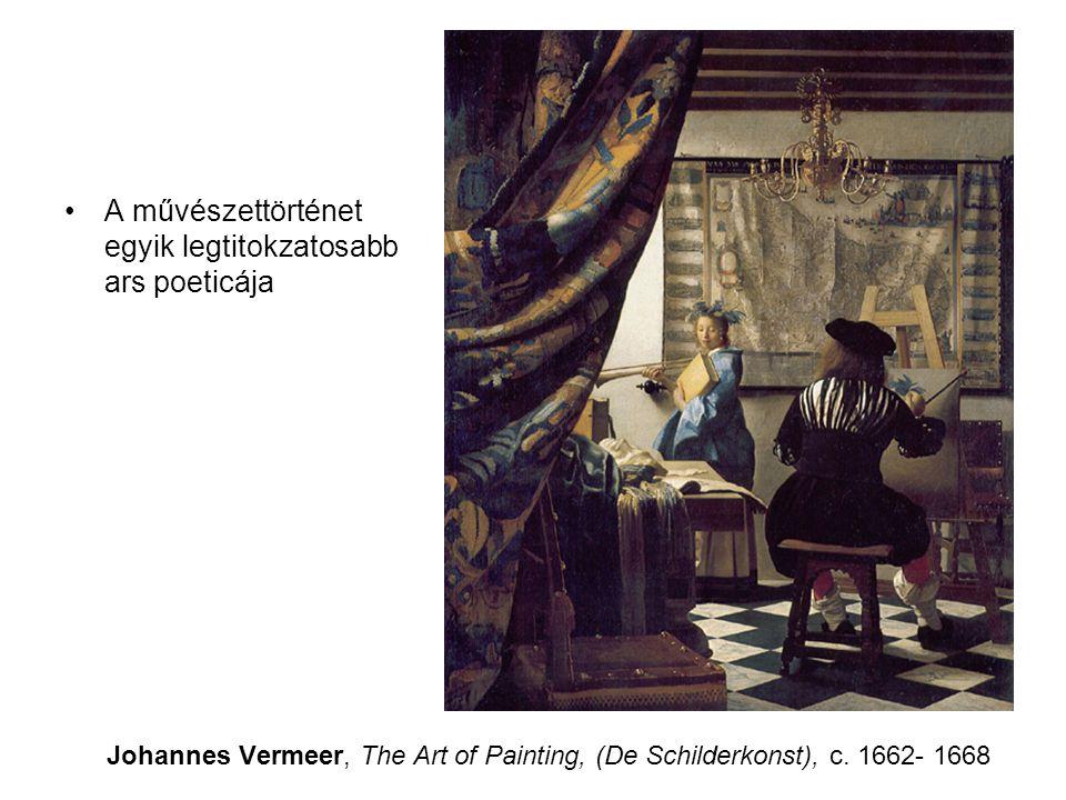 Ut pictura poesis •Úgy van a verssel, akár csak a képpel: van mi közelrõl megragadóbb, másnak távolról szebb a hatása.