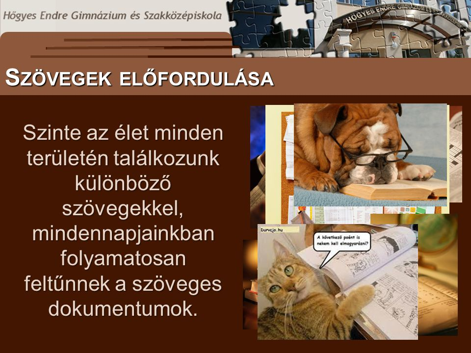 További információ itt: http://tudasbazis.sulinet.hu S ZÖVEGES DOKUMENTUMOK ELŐFORDULÁSA I NTEGRÁLT KÖNYVTÁRI RENDSZEREK Évfolyamonkénti bontásban, 9-12.