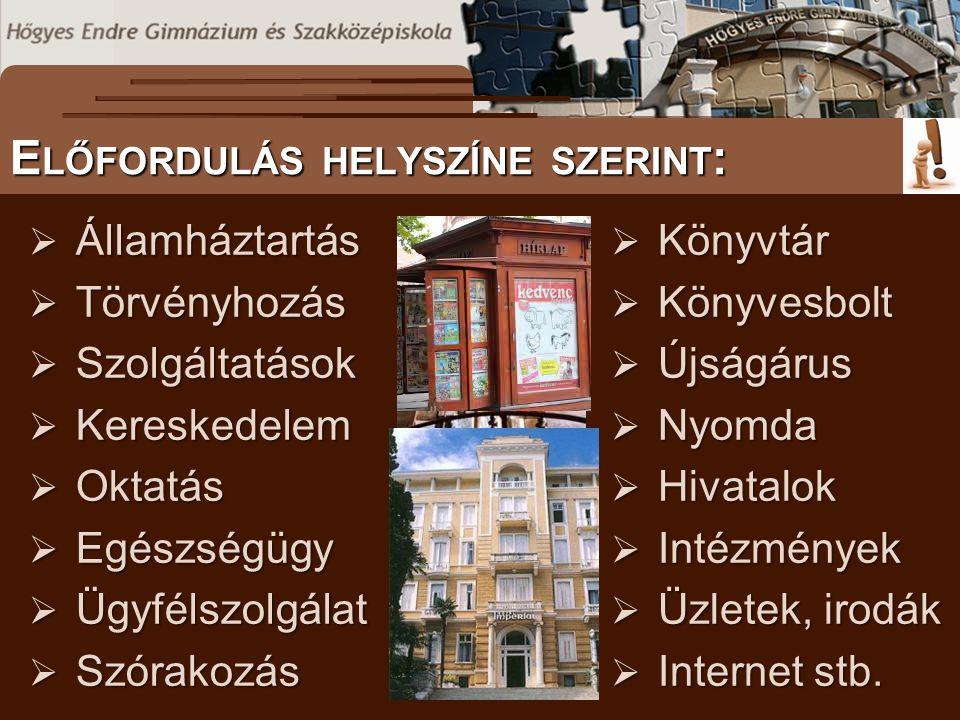 www.mozaik.info.hu S ZÖVEGES DOKUMENTUMOK ELŐFORDULÁSA T ANULÁST SEGÍTŐ ANYAGOK A NETEN II.