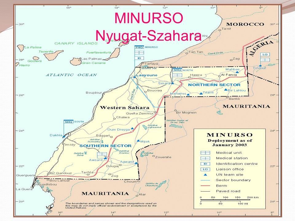 MINURSO Nyugat-Szahara