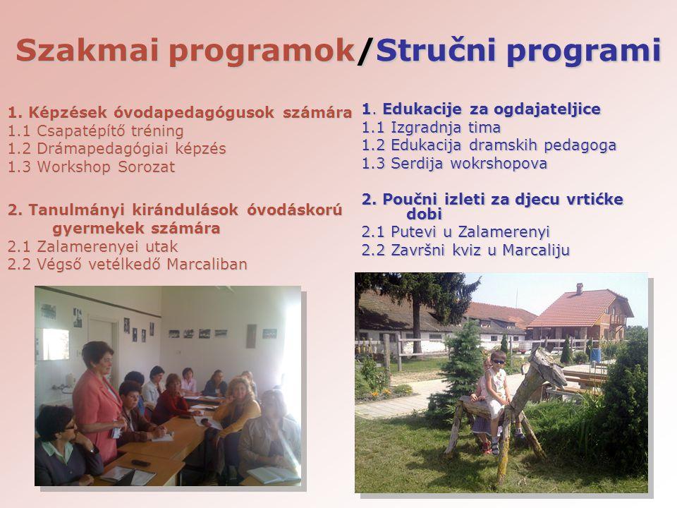 Szakmai programok/Stručni programi 1.