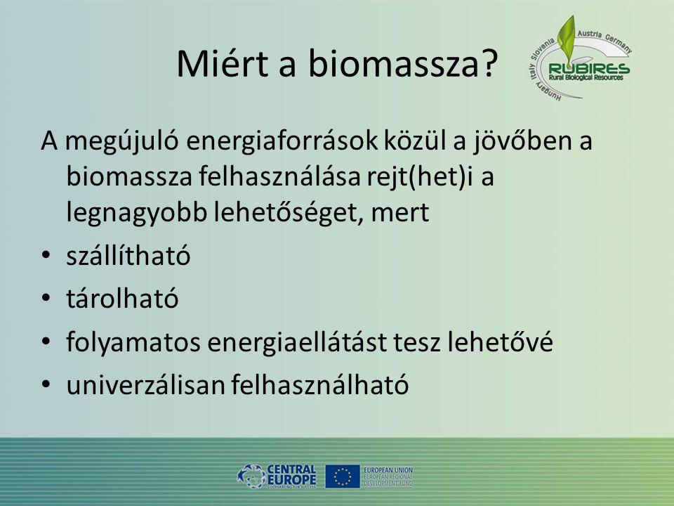 Miért a biomassza.