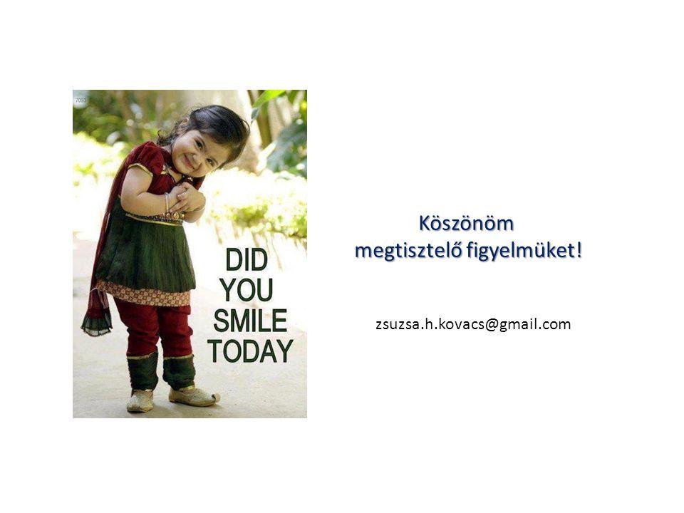 Köszönöm megtisztelő figyelmüket! zsuzsa.h.kovacs@gmail.com