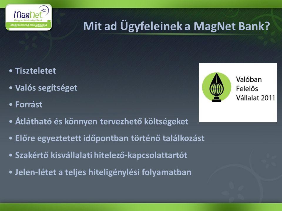 Mit ad Ügyfeleinek a MagNet Bank.