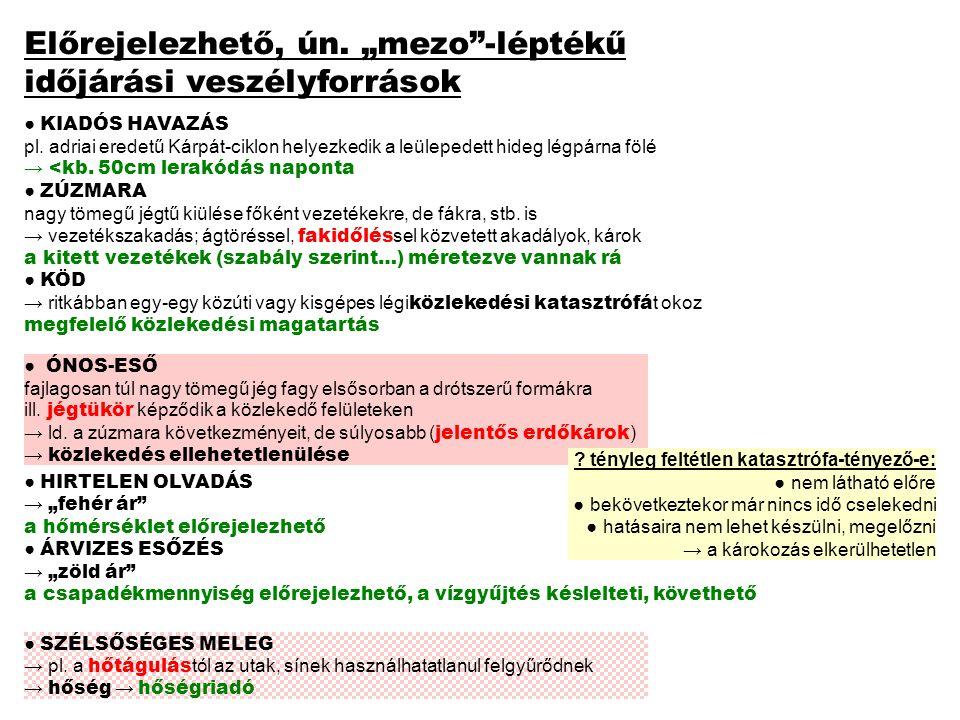 ● KIADÓS HAVAZÁS pl.