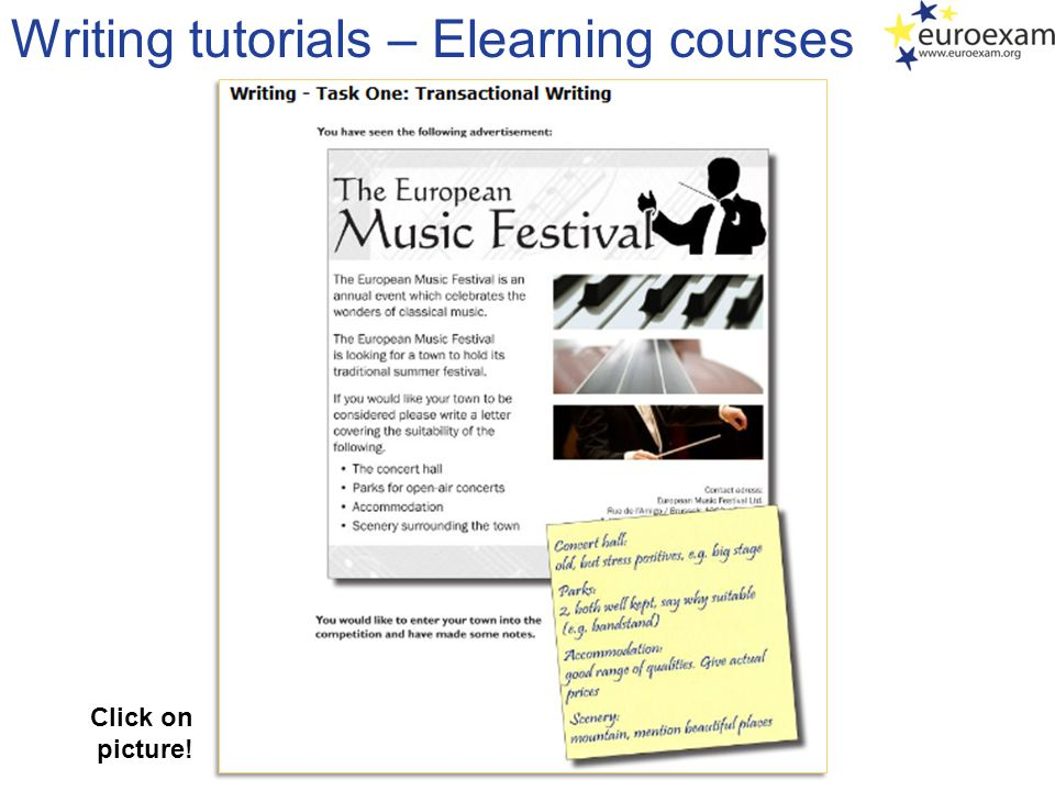 Writing tutorials – Elearning courses Click on picture!