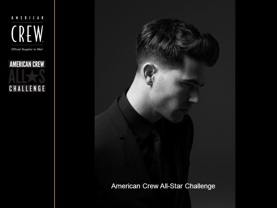 American Crew All-Star Challenge Részvételi követelmények A fotónak mellképnek kell lennie, a fej a fotó közepén legyen pozícionálva A frizura körvonala tisztán látható kell hogy legyen A szembőli és a profil fotó egyaránt ki kell hogy emelje a frizurát