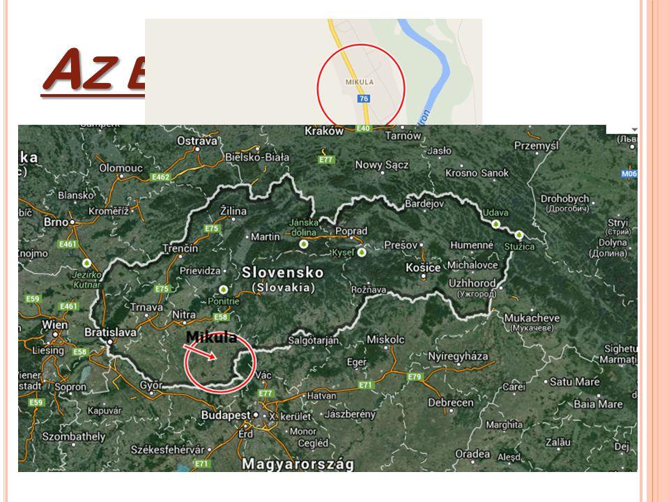 A Z ÉN FALUM Közép-Európa szívében, Szlovákiában élek, egy kis faluban: Mikolán.