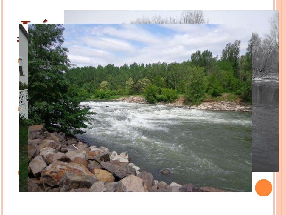 L ÁTNIVALÓK Ha a környéken járunk, az els ő meglátogatandó hely a Garam folyó partja.