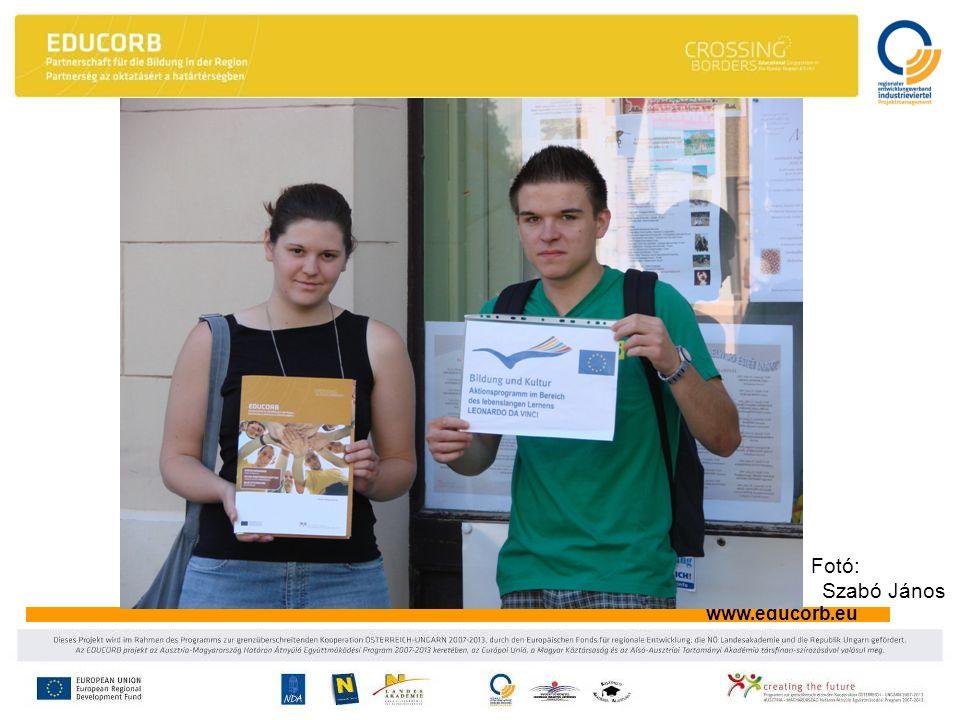 www.educorb.eu Fotó: Szabó János