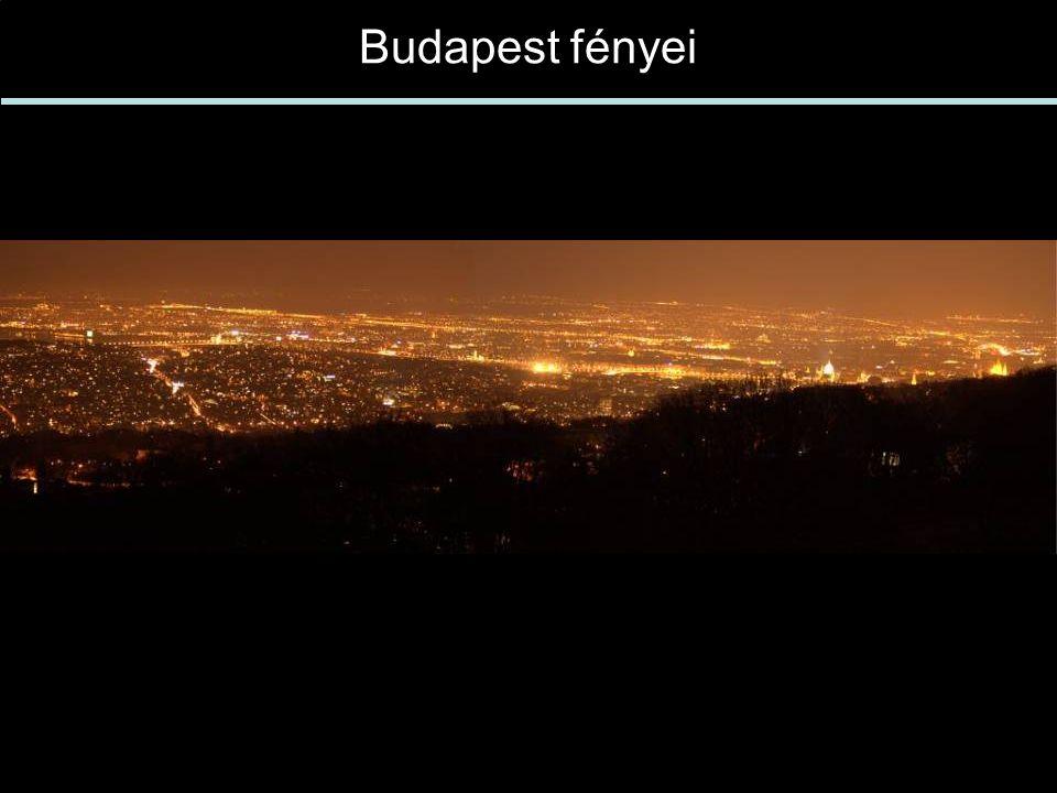 Budapest fényei