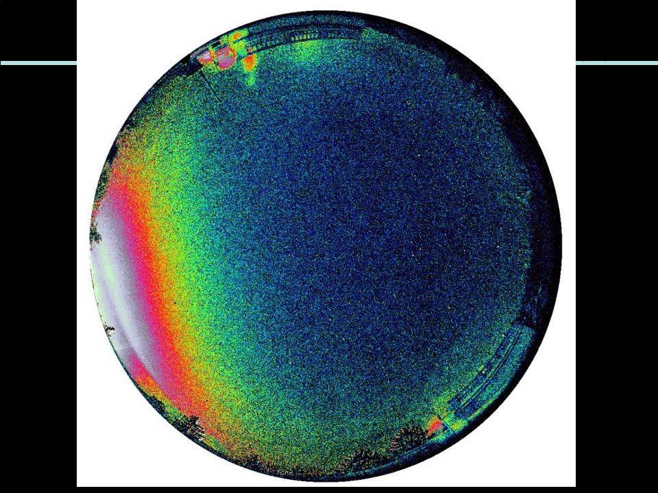 A díszvilágítás lekapcsolásakor: Az égbolt mesterséges fénylése relatív értékének alakulása.