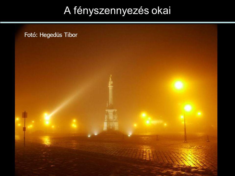 A fényszennyezés okai Fotó: Hegedüs Tibor