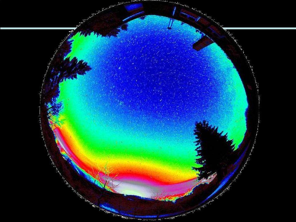 A fényszennyezés helyzete a Földön