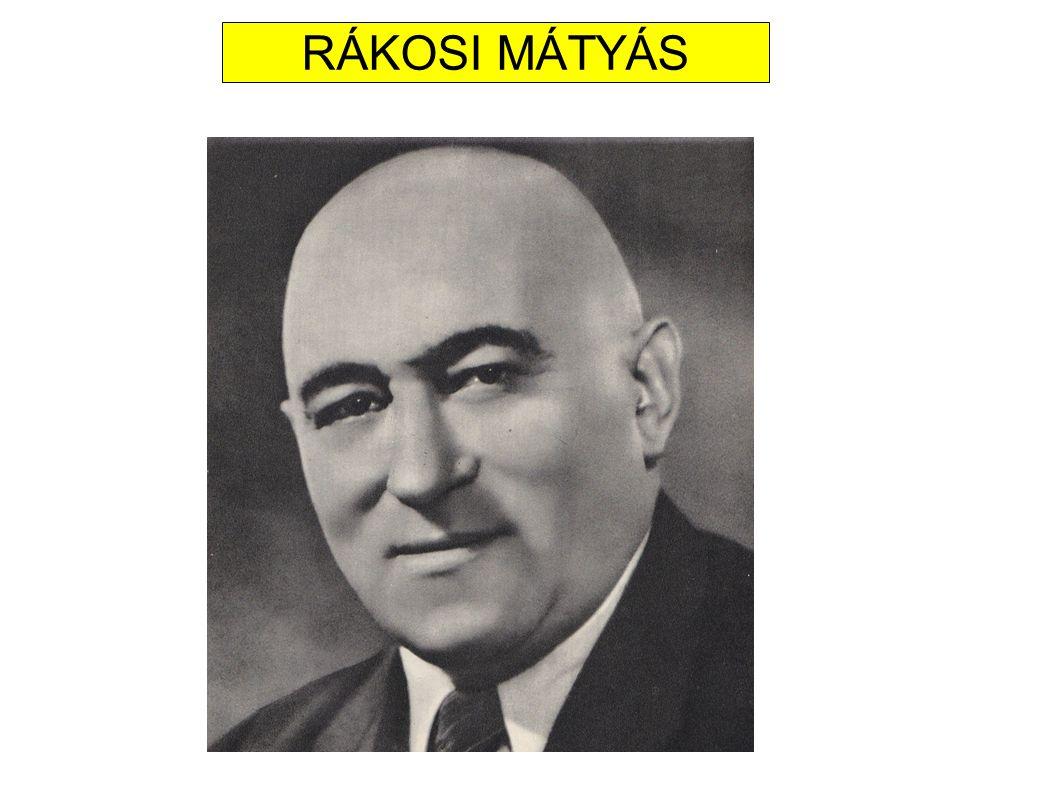 10.Az alábbi feladat a Rákosi-korszakra vonatkozik.