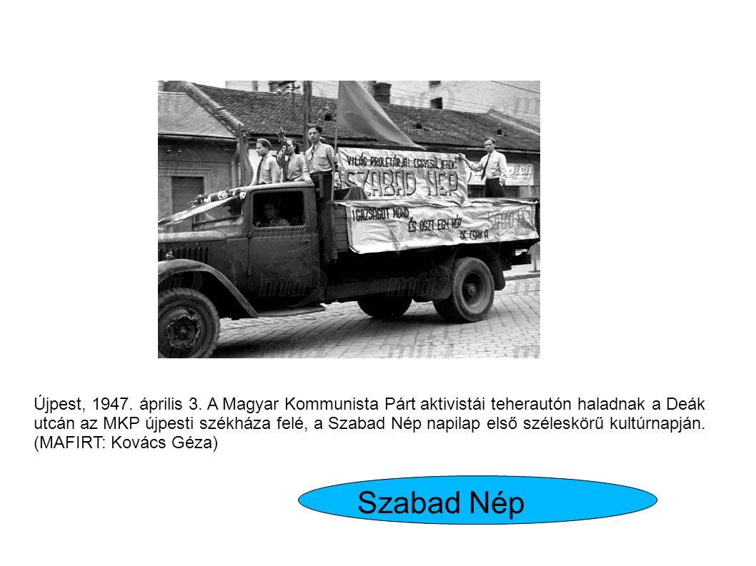 Újpest, 1947.április 3.