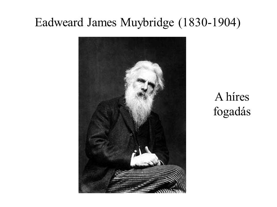 Eadweard James Muybridge (1830-1904) A híres fogadás