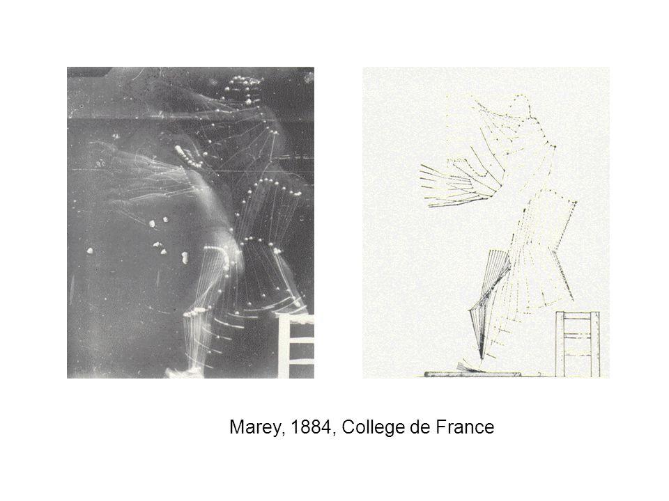 Marey, 1884, College de France