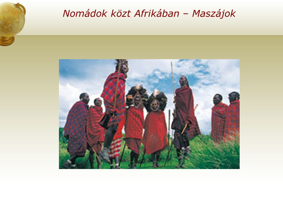 Nomádok közt Afrikában – Maszájok