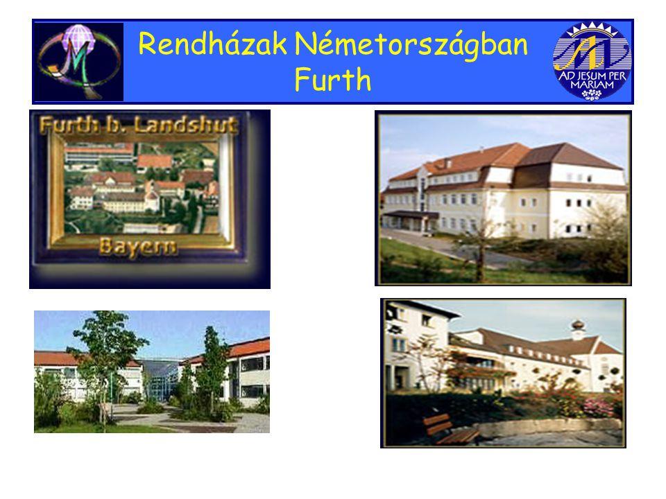 Rendházak Németországban Furth