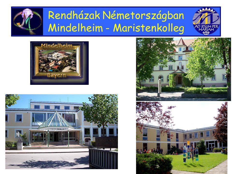 Rendházak Németországban Mindelheim - Maristenkolleg