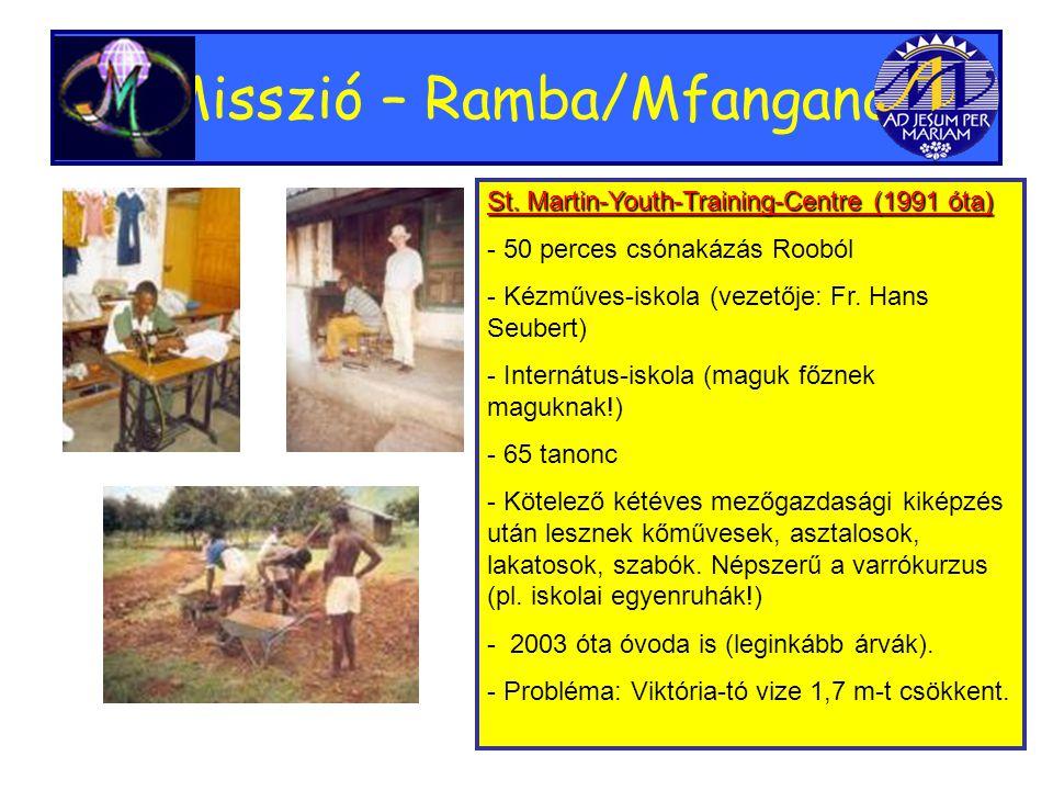 Misszió – Ramba/Mfangano St.