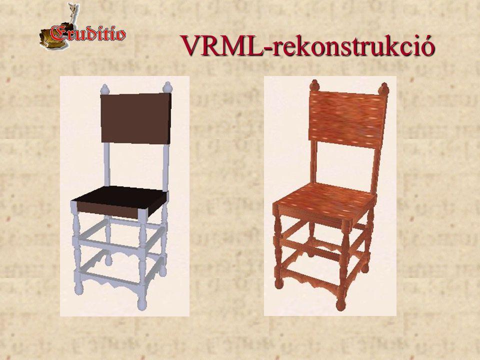 VRML-rekonstrukció