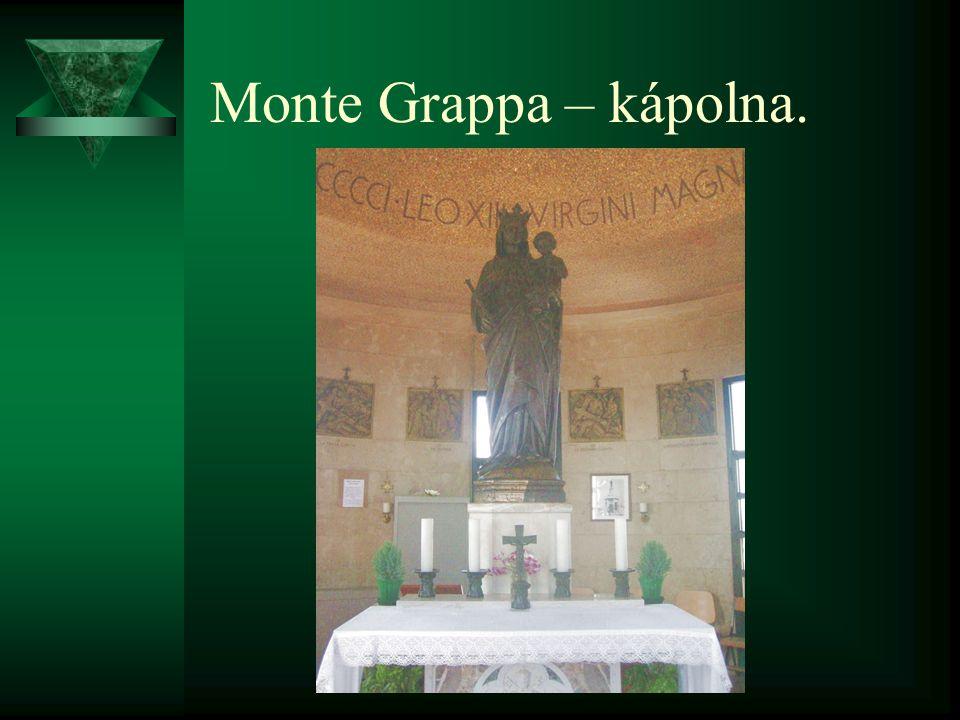 Monte Grappa – kápolna.