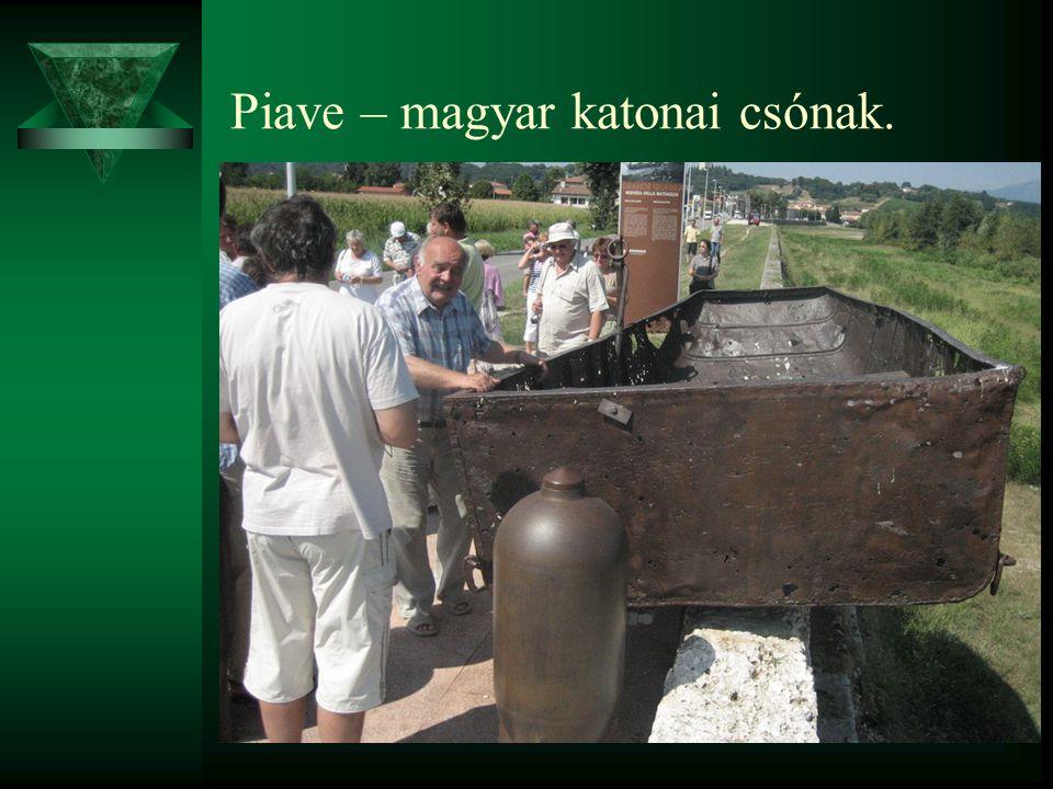 Piave – magyar katonai csónak.