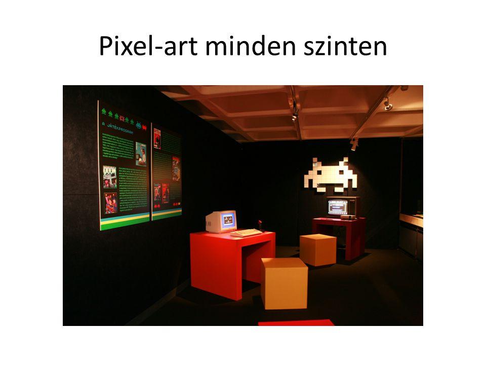 Pixel-art minden szinten