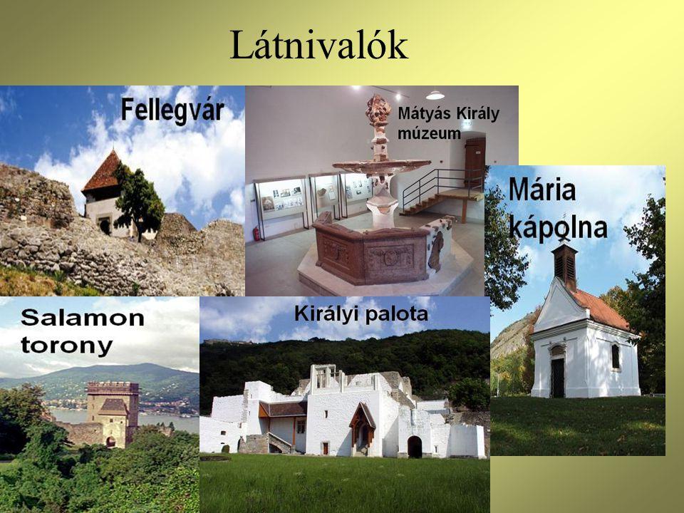 Fellegvár •A ma látogatható Fellegvár nem az első vár, amely itt épült.